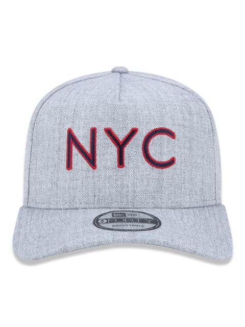 9bf29a307c Bone New Era 940 NYC Cinza - MY STORE CG - All Star - Nike - New Era ...