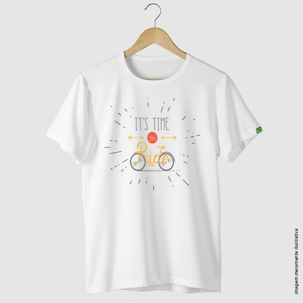 Camiseta Ciclismo It's time to ride