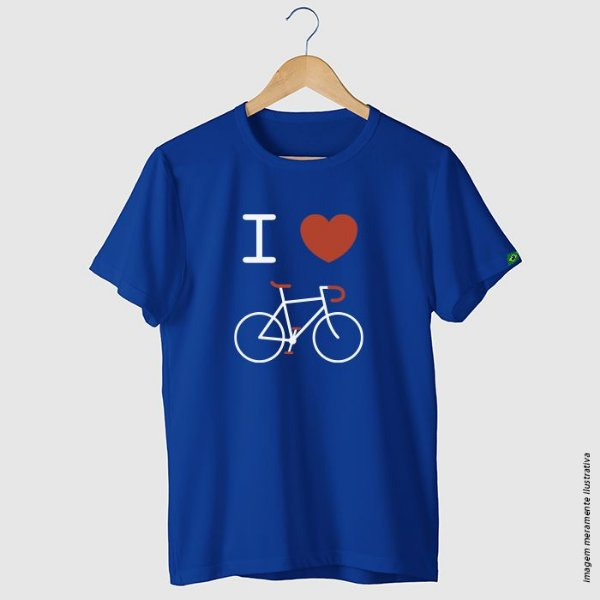Camiseta ciclismo casual I Love Bike