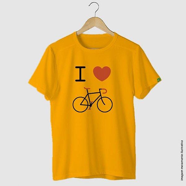 Camiseta ciclismo casual I Love Bike