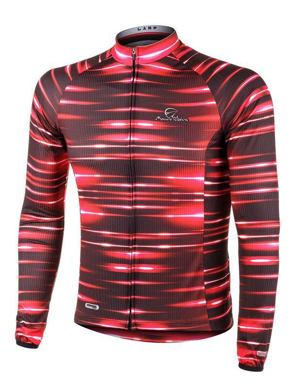 Camisa ciclismo masculina Performance ML Lamp Mauro Ribeiro