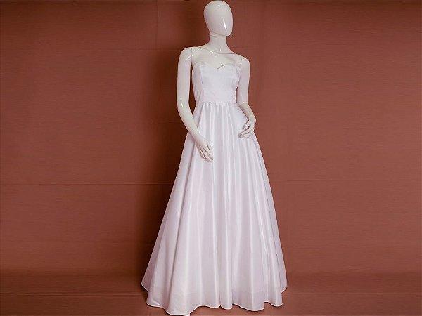 Vestido de Noiva Princesa Simples