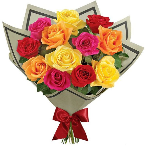 Buquê Especial de 12 Rosas