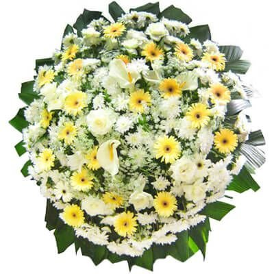 Coroa de Flores Luxo