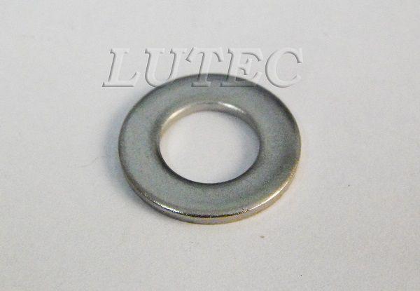 Arruela Lisa #5 1/8 Inox (Embalagem 50 peças)