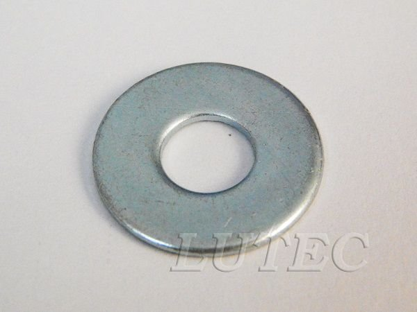 Arruela Lisa M8 Zincada (Embalagem 100 peças)