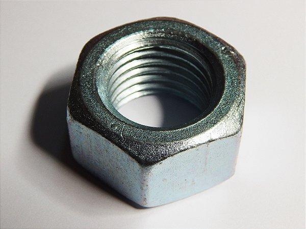 Porca Sextavada M10 Zincada (Embalagem 50 peças)