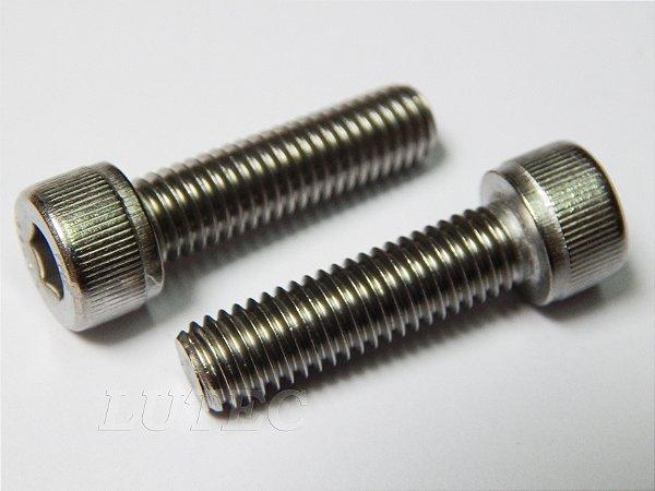 Parafuso Allen Cabeça Cilíndrica M6 x 20 Aço Inox (Embalagem 20 peças)