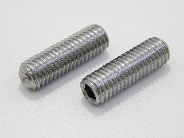 Parafuso Allen Sem Cabeça M5 x 12 Aço Inox (Embalagem 20 peças)