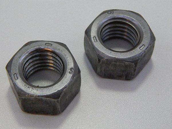 Porca Sextavada 3/8 - 16 UNC Aço G5 (Embalagem 50 peças)