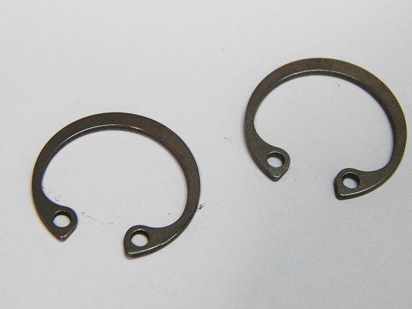 Anel Elástico Furo 502.025 25mm DIN472 Inox (Embalagem 10 Peças)