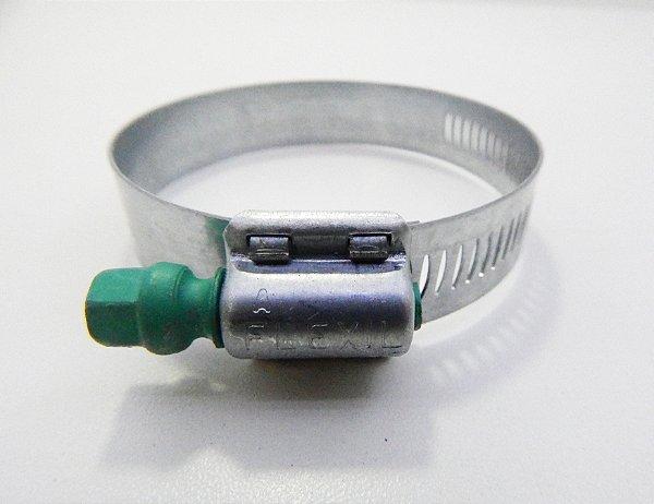 Abraçadeira Regulável FAB Suprens Aço Carbono 76-95mm Fita 14,5mm (Embalagem 4 peças)