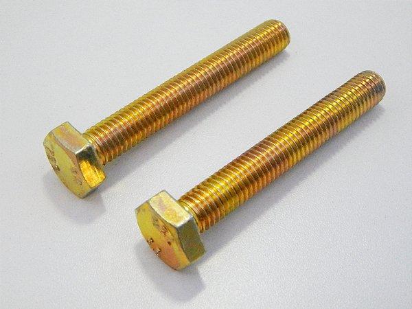 Parafuso Sextavado RI M10 x 50 Aço 5.8 Bicromatizado (Embalagem 20 peças)