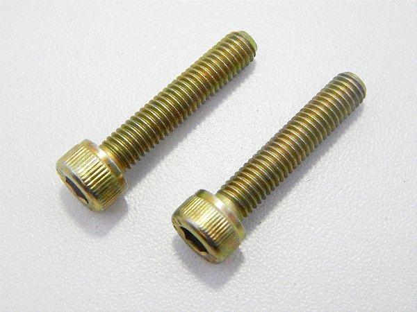 Parafuso Allen Cabeça Cilíndrica M4 x 20 Bicromatizado (Embalagem 20 peças)