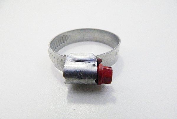 Abraçadeira Regulável PAB Suprens Aço Carbono 25-38mm Fita 9,0mm (Embalagem 8 peças)