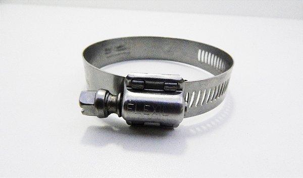 Abraçadeira Regulável FIF Suprens Aço Inox 14-22mm Fita 14,5mm (Embalagem 2 peças)
