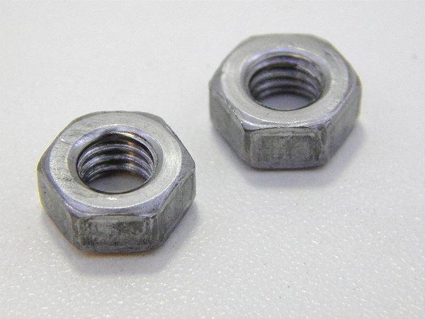 Porca Sextavada 1/2 - 12 BSW Aço G5 (Embalagem 8 peças)