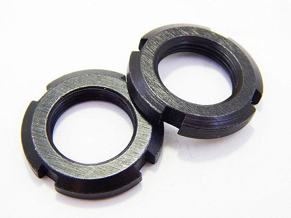 Porca de Trava KM 5 (M25 X 1,50) (Embalagem 4 peças)