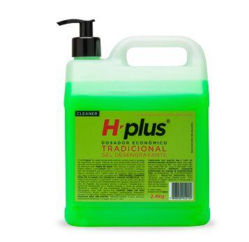 Gel Desengraxante H-plus Tradicional 2.4kg Com Dosador