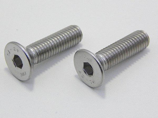 Parafuso Allen Cabeça Chata M3 x 12 Inox (Embalagem 20 peças)