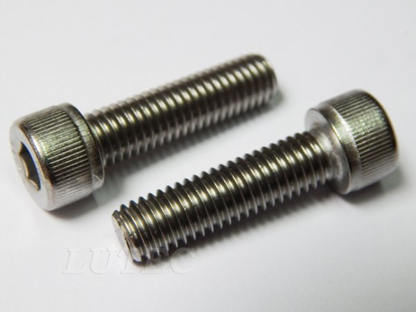 Parafuso Allen Cabeça Cilíndrica M8 x 35 Aço Inox (Embalagem 10 peças)