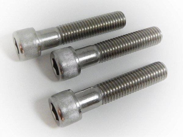Parafuso Allen Cabeça Cilíndrica M8 x 45 Aço Inox (Embalagem 10 peças)