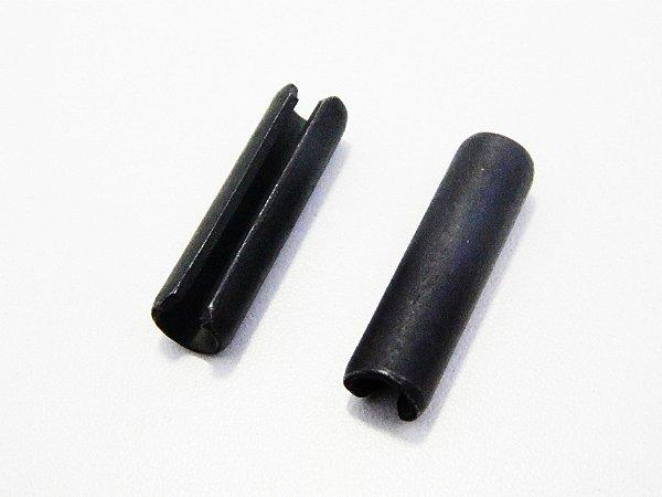 Pino Elástico DIN1481 Ø 2,5 x 12 Aço Mola (Embalagem com 50 Peças)
