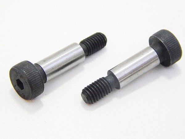 Parafuso Allen Cabeça Cilíndrica Corpo Retificado Shoulder 6 x 30 12.9 Aço Liga (Embalagem 4 peças)