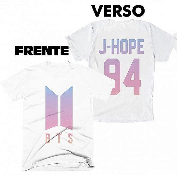 Camiseta BTS - Team J-Hope
