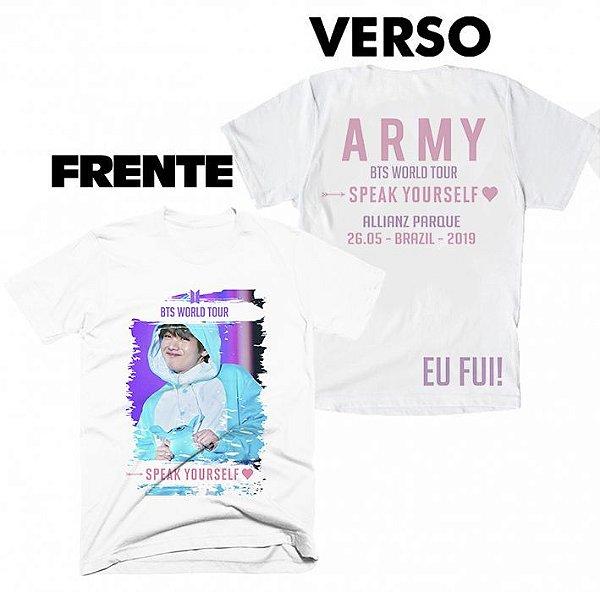 Camiseta BTS Speak Yourselfe Tour Brasil - 6