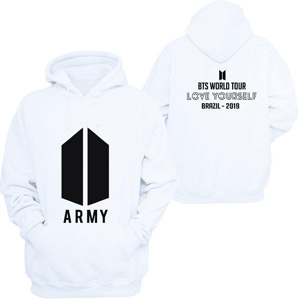 Moletom BTS ARMY - World Tour - -