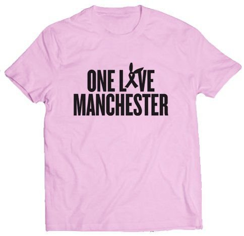 Camiseta Ariana Grande - One Love Manchester