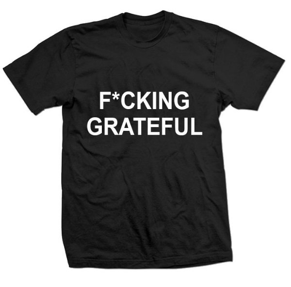 Camiseta Ariana Grande - FUCKING GRATEFUL