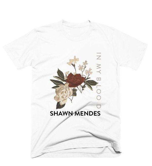 Camiseta Shawn Mendes - In My Blood 1