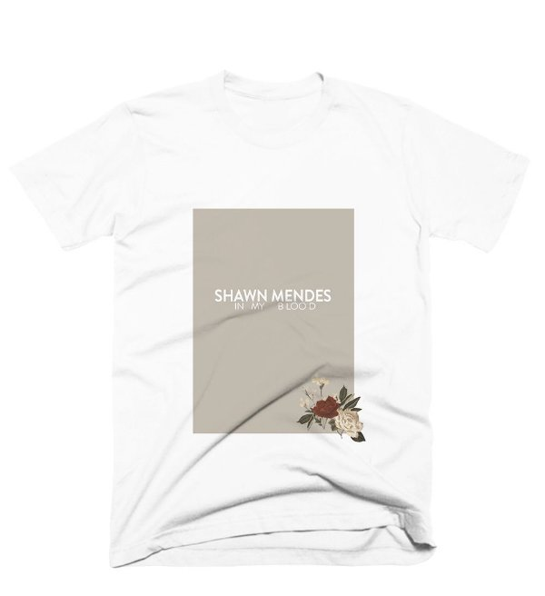 Camiseta Shawn Mendes - In My Blood 2