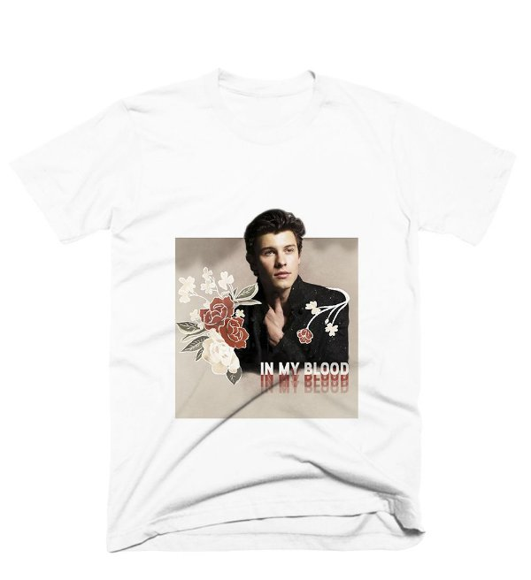 Camiseta Shawn Mendes - In My Blood 4