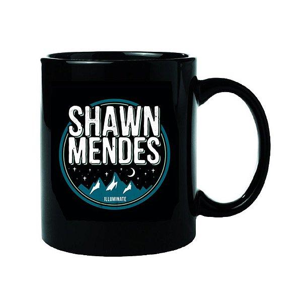 Caneca Preta Shawn Mendes