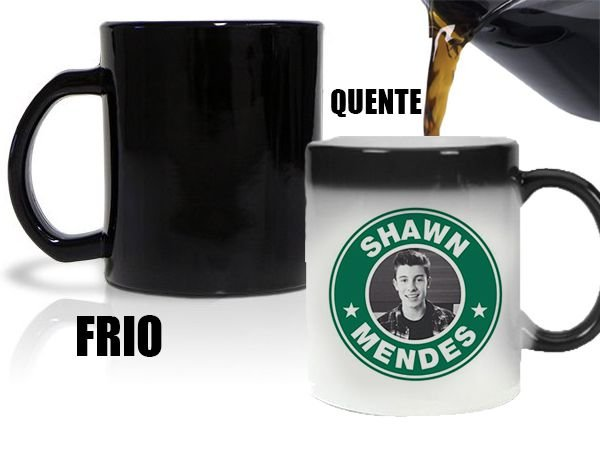 Caneca Mágica Shawn Mendes