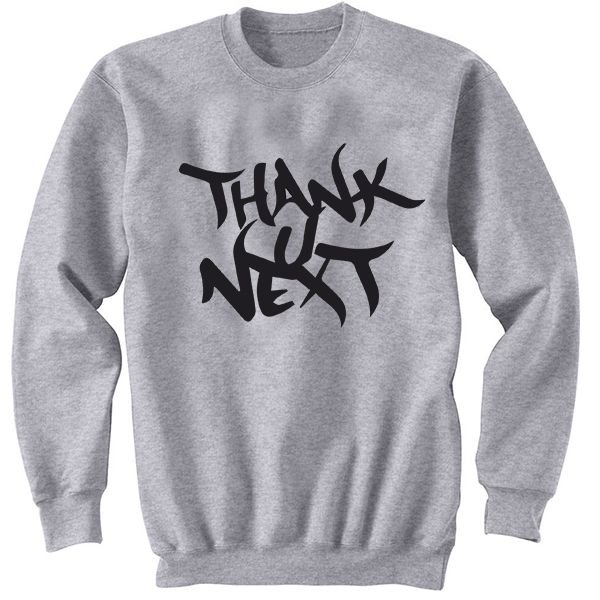 Moletom Ariana Grande - Thank U, Next - Album -