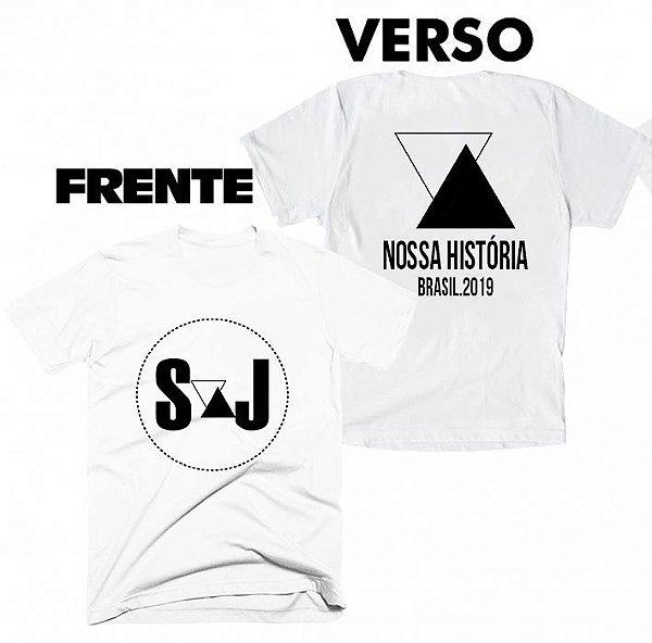 Camiseta Sandy e Junior - Nossa História 03