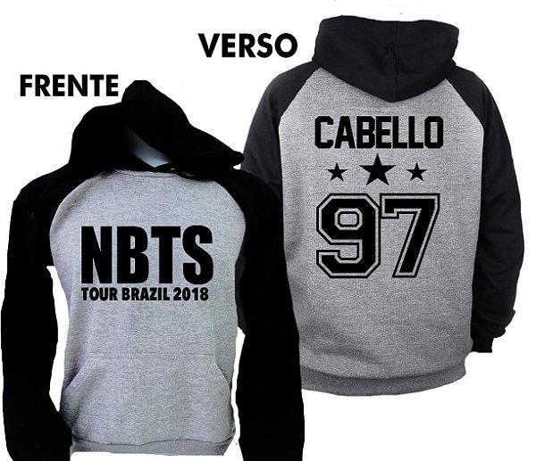 Moletom Raglan – Camila Cabello – NBTS TOUR