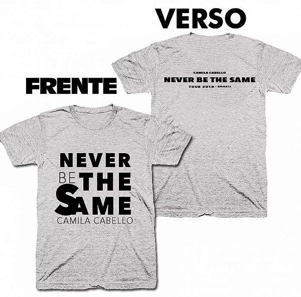 Camiseta Camila Cabello – Never Be The Same 2