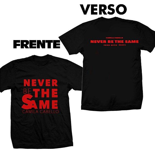 Camiseta Camila Cabello – Never Be The Same 3