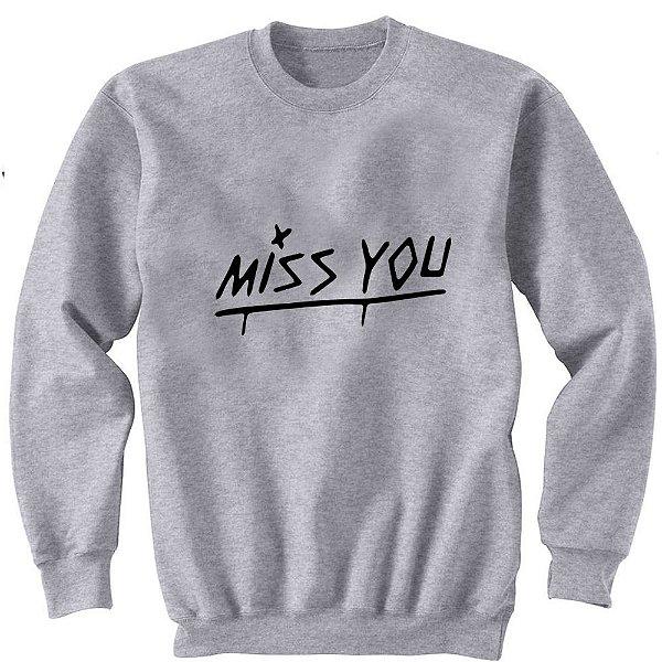 Moletom Louis Tomlinson – Miss You – Frente