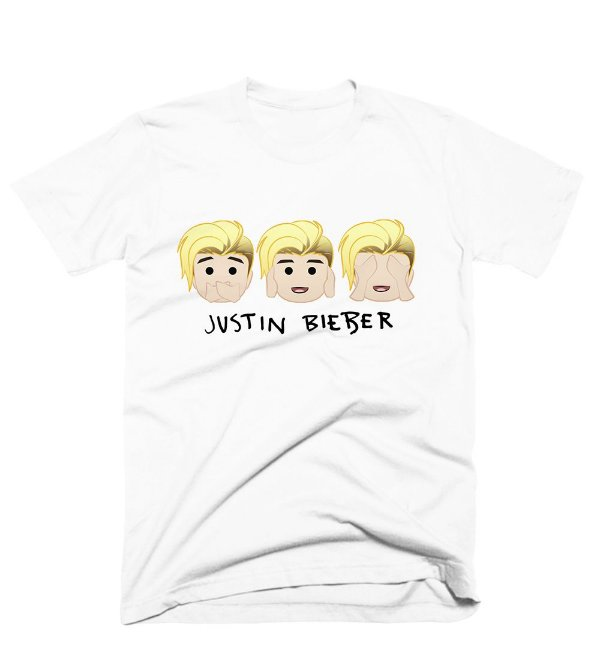 Camiseta Justin Bieber – Emoji 3