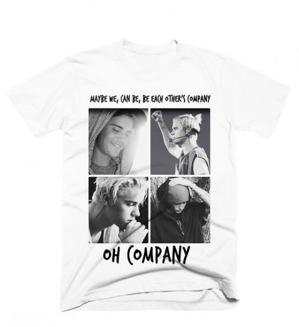 Camiseta Justin Bieber – Company 1