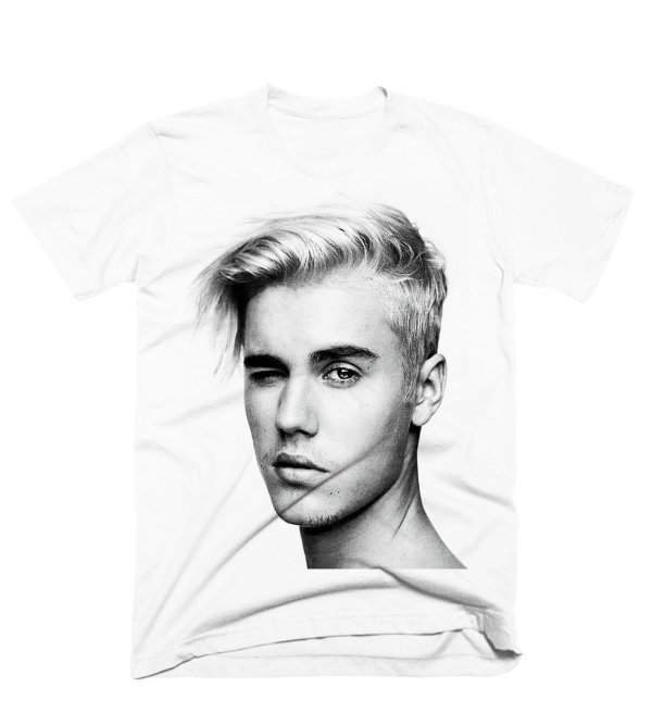Camiseta Justin i-D Photoshoot 2