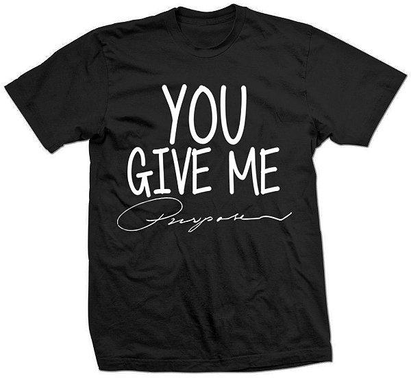 Camiseta Justin Bieber – Give Me Purpose