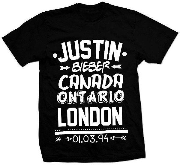 Camiseta Justin Bieber – Niver