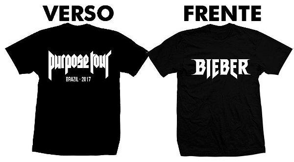 Camiseta Purpose Tour – Justin Bieber